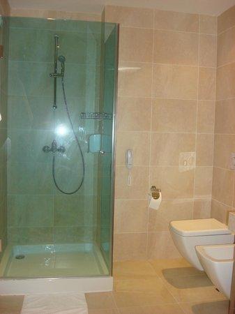Astera Hotel & Spa: shower