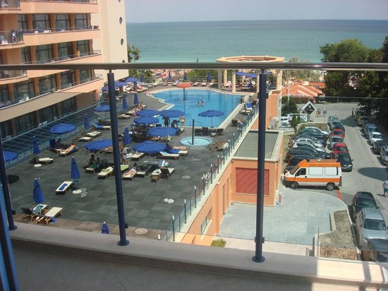 Astera Hotel & Spa: view from room