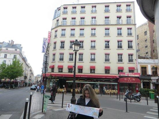 Royal Opera Mansart: отель
