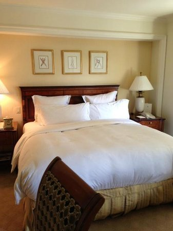 The Ritz-Carlton New York, Central Park: Heavenly beds