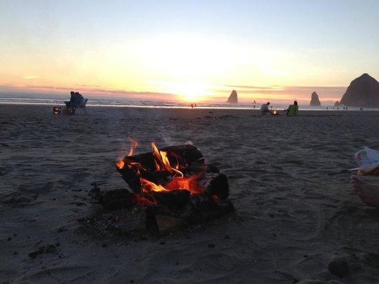 Stephanie Inn: Our Beach Bonfire