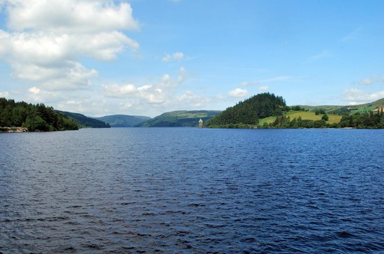 Lake Vyrnwy : View from the dam