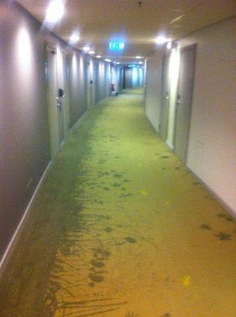Radisson Blu Hotel Uppsala: 6th floor corridor