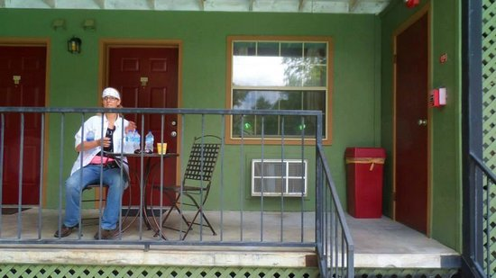 The Lodge : balcony