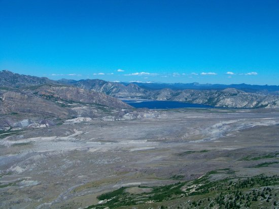 Mt St Helens Helicopter Tours: Spirit Lake