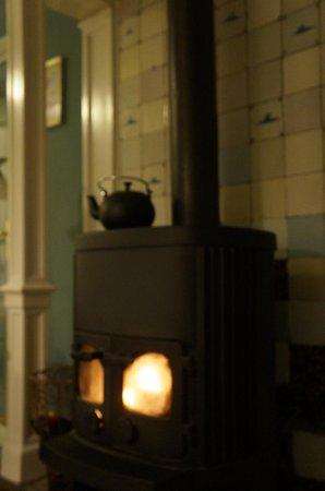 In Den Ouden Vesting: Wood burning stove!