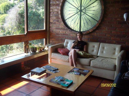 Vila CasaNova: Sala de convivência, com internet e computador