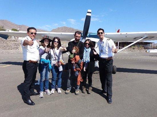 Great Nazca Tours: Vuelo por líneas de Nazca, inolvidable