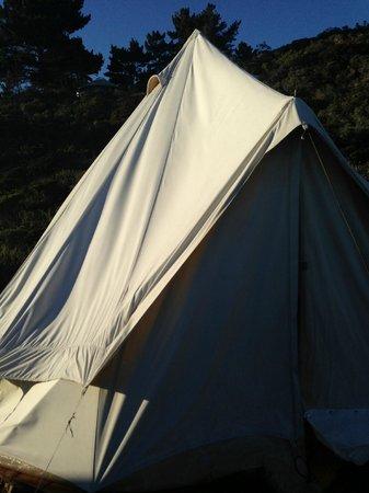 Treebones Resort: The Silbey Tent
