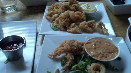 BlackSalt Fish Market & Restaurant : Clams and Calamari