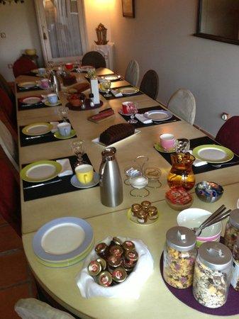 Hotel Barosse: Desayuno