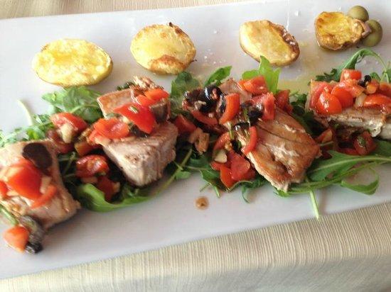 Restaurant Toni : Tuna steak