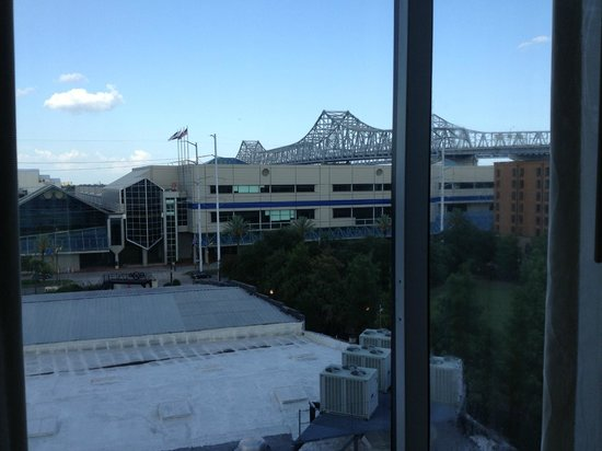 Hilton Garden Inn New Orleans Convention Center : View from the hotel