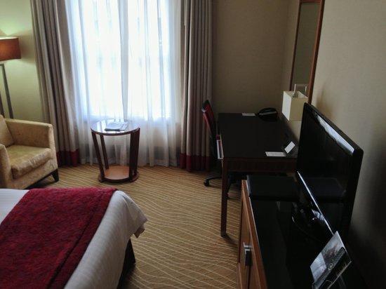 Leeds Marriott Hotel: Bedroom