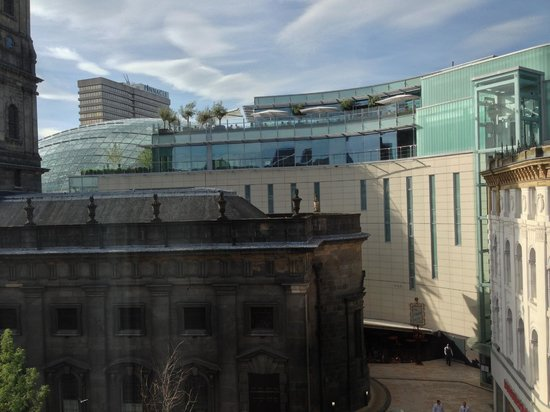 Leeds Marriott Hotel: View from bedroom