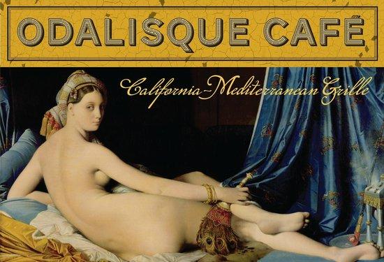 """Odalisque Cafe: """"La Grande Odalisque"""" by JAD Ingres painted in 1814"""