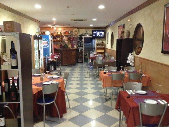 Restaurante O Arraiolos: interior