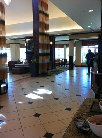 Hilton Garden Inn Great Falls: foyer