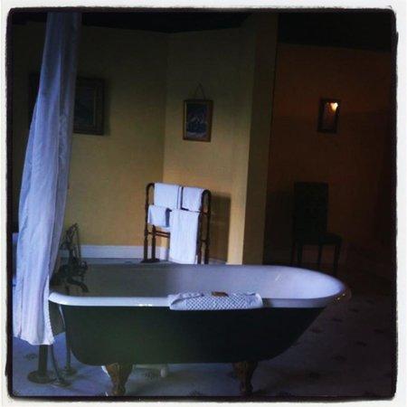Kinnitty Castle Hotel: Amazing tub!