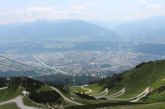 Innsbrucker Nordkettenbahnen: Aerial view