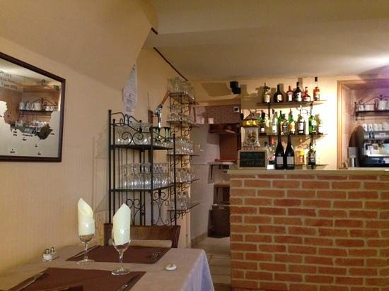 La Fringale : the charming bar area