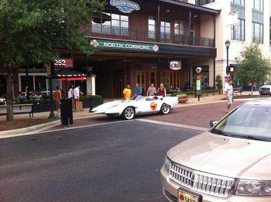 Market Street The Woodlands: speed racer in market street