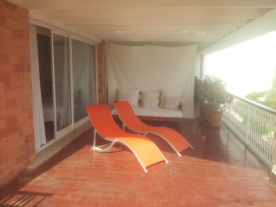 Villa Unika: terrace