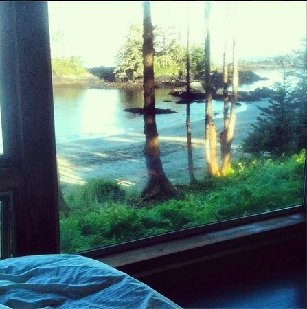 Wya Point Resort : View from the bed.