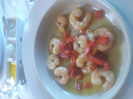 Villa Unika: great dinner