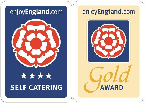 Promenade Apartments: Enjoy England awarded us 4 stars and a couple of apartments have the Gold Award