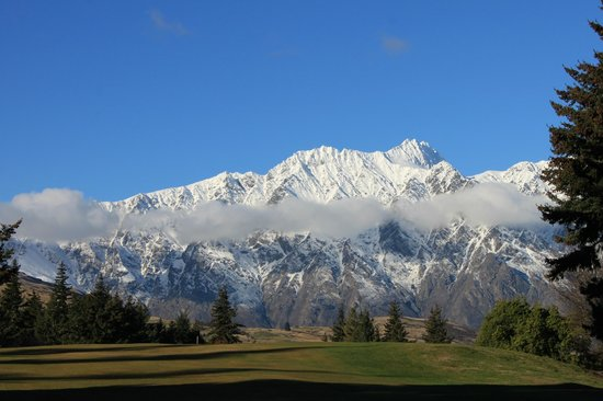 Queenstown Golf Club: Jaw dropping