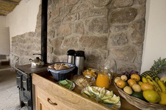 Maison Fortaleza: Home-made breakfast