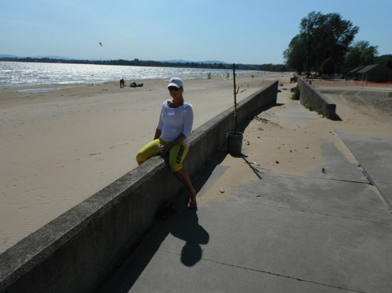 Plattsburgh City Beach In Early October Picture Of