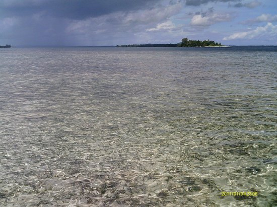 Lissenung Island Resort: View from house reef