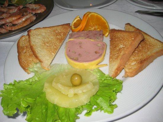 Restaurante Tango: starter  :)