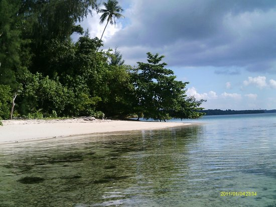 Lissenung Island Resort: Back