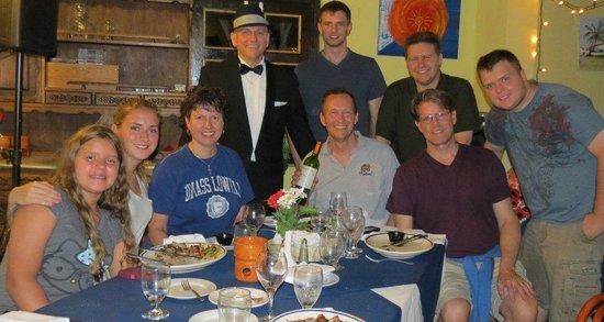 Aruba Sinatra Dinner Show: Fred de Jong and the Nordeens, Pilkons and McLaughlins