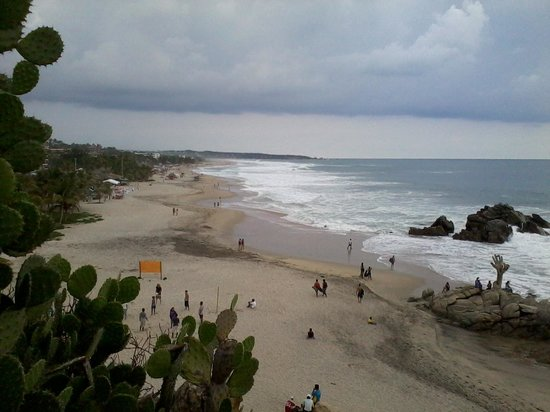 Playa Zicatela: dall'alto