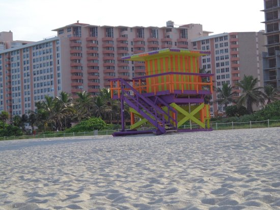 The Palms Hotel & Spa: Salva vidas