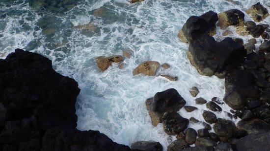 Balneario Pozo de la Salud: Las vistas desde el acantilado, junto al pozo