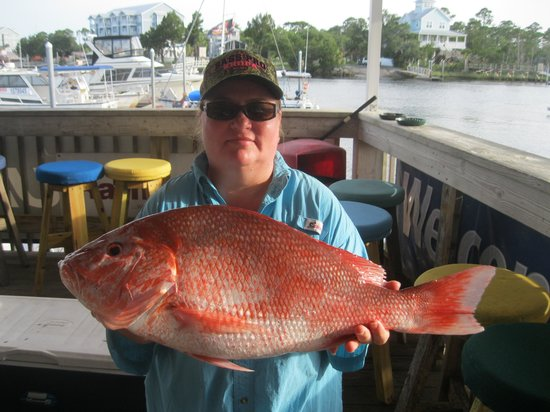 Steinhatchee, ฟลอริด้า: Trudy's Big Red Snapper