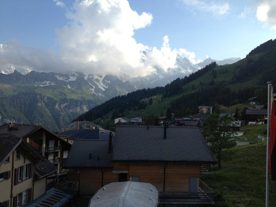 Hotel Jungfrau: View from room 227 balcony