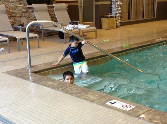 Embassy Suites by Hilton Denver - Downtown / Convention Center: at the pool