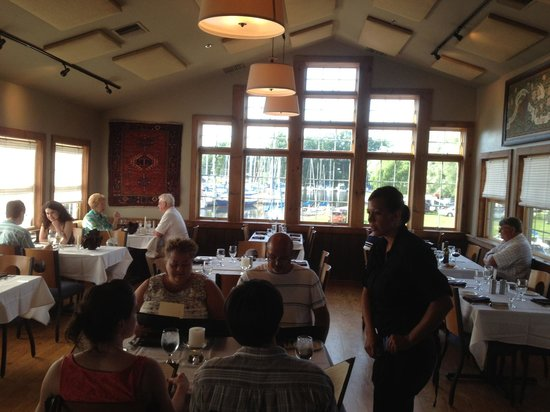 Pultneyville Grill: The main dining room upstairs