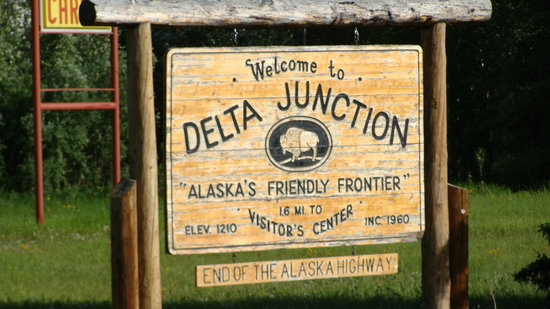 Delta Junction End Of The Alaska Highway