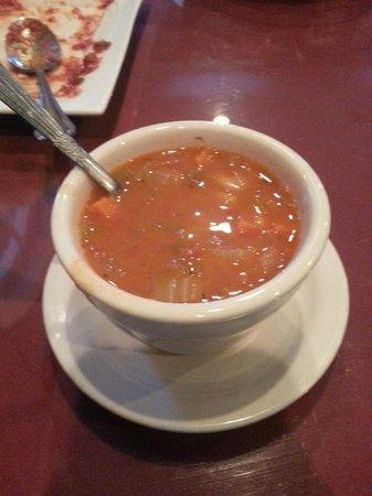 Luigi's Trattoria: Soup to start the meal