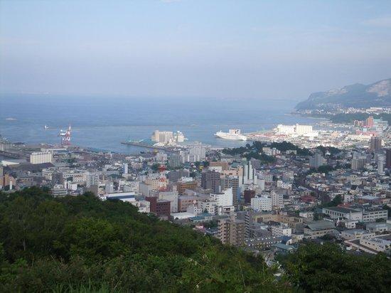 Otaru, Japan: 展望台からの小樽の眺め