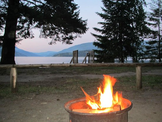 Pierre's Point Campground: Our view each night