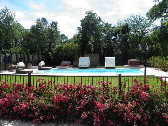 Chateau Rieutort : Naturist pool