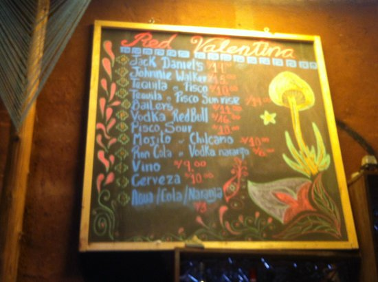 Valentina´s Coffee Restaurant: Drinks
